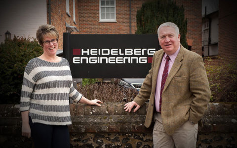 MP Sir Mike Penning visits Heidelberg Engineering to promote World Glaucoma Week