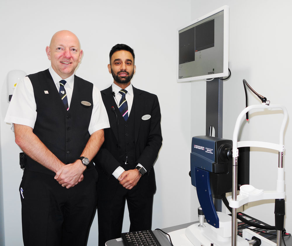 New Specsavers store opens its doors to shared care opportunities